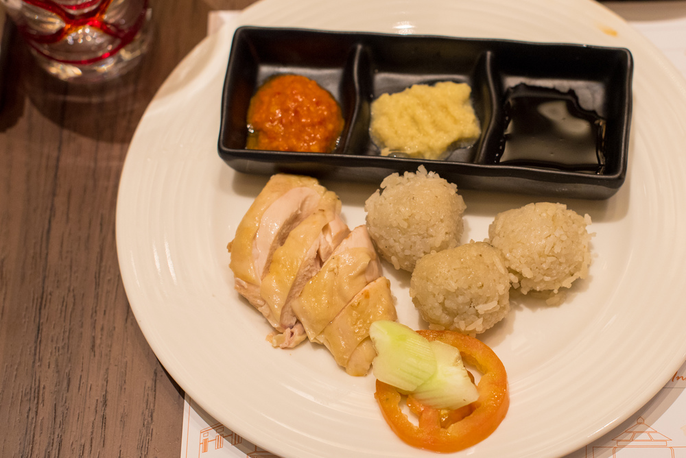 Chicken Rice - Sunday Brunch  J65 - Hotel Jen Tanglin Singapore