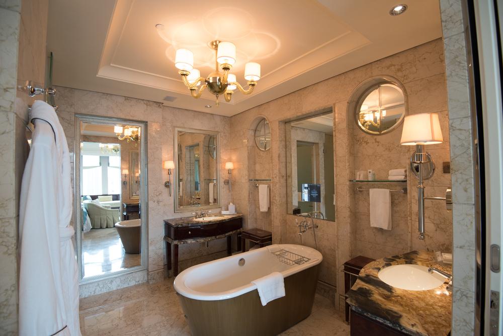 Bathroom  Executive Deluxe Room - The St. Regis Singapore