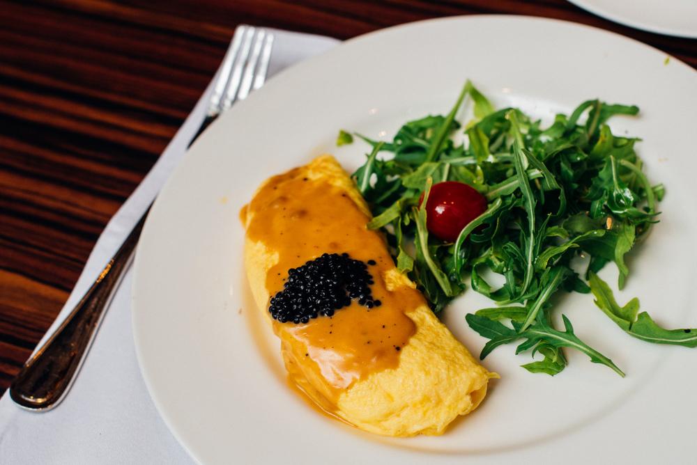 Epicurean Omelette - Breakfast Brasserie Les Saveurs - The St. Regis Singapore