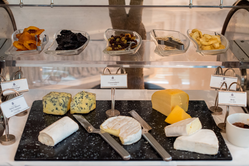 Cheese Selection - Breakfast Brasserie Les Saveurs - The St. Regis Singapore