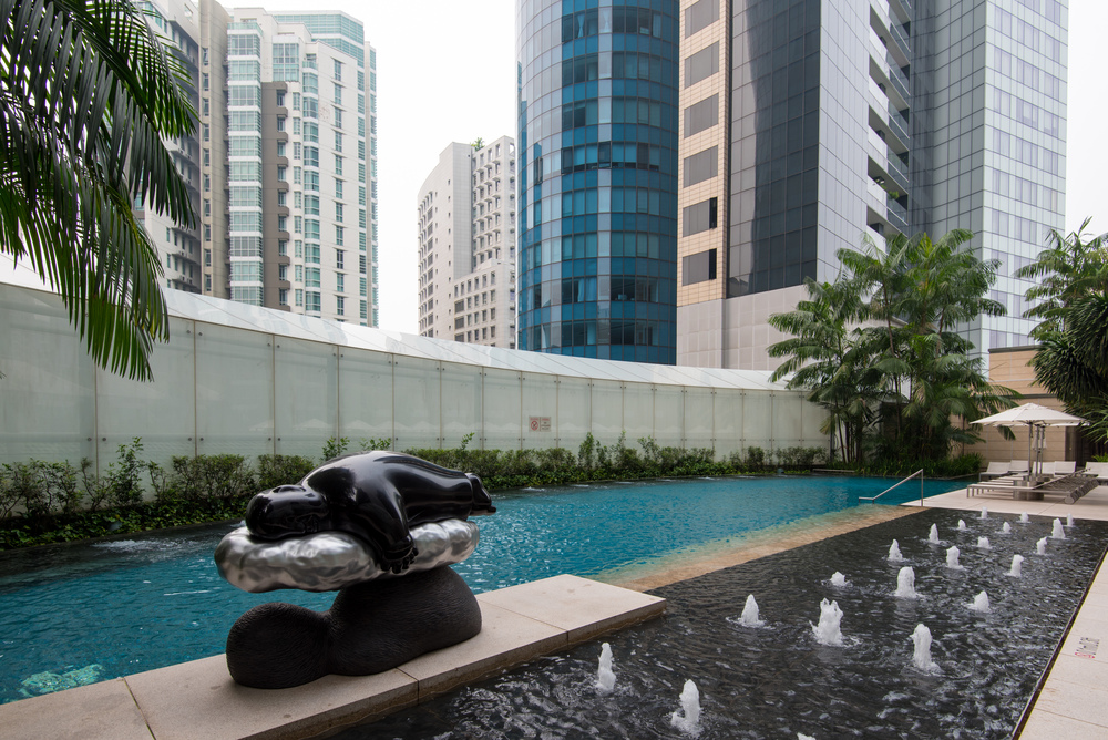 Hotel review the st regis singapore executive deluxe - Least crowded swimming pool singapore ...