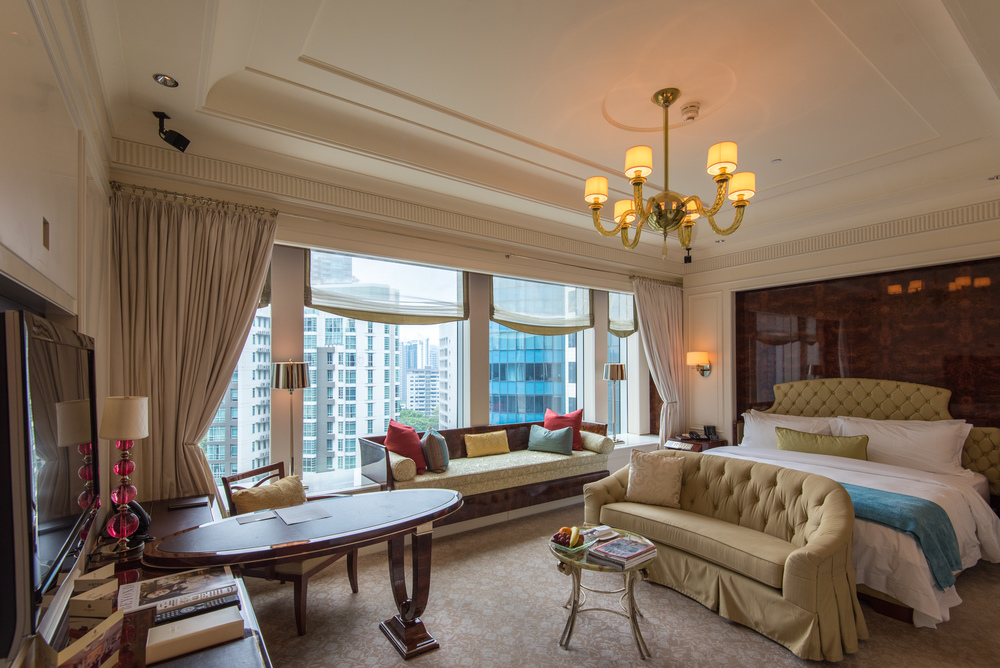 Hotel review the st regis singapore executive deluxe for W hotel in room dining menu singapore