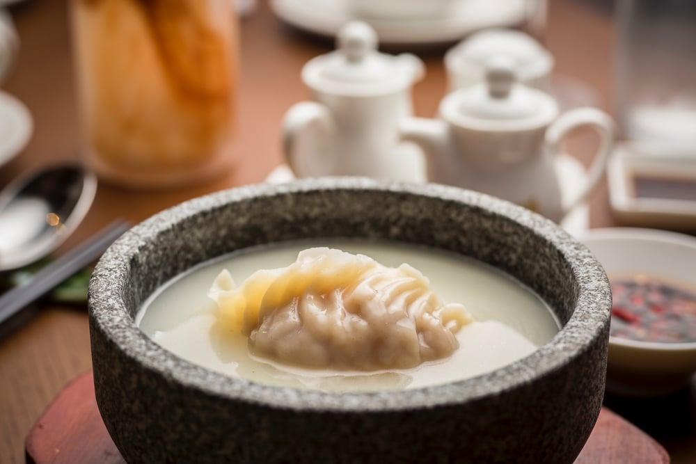 King Prawn Dumpling In Supreme Broth | Photo Credit: EMPRESS