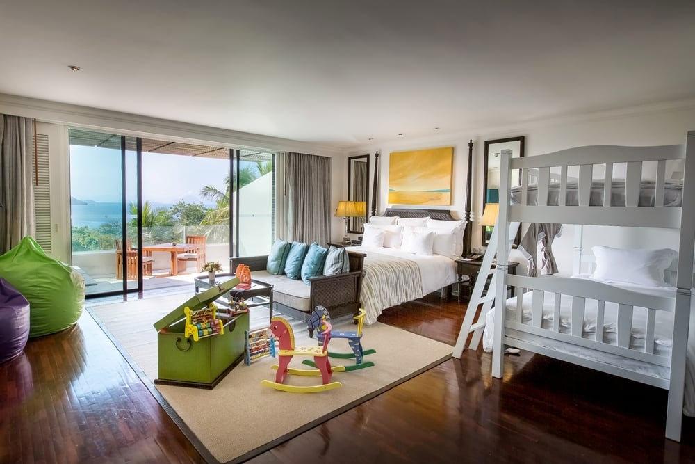 Family Rooms | Photo Credit: InterContinental Samui Baan Taling Ngam Resort