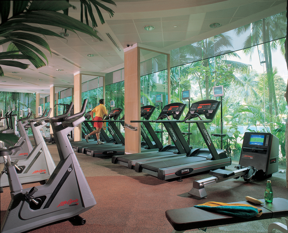Health Club | Photo Credit: Shangri-La Hotel, Singapore