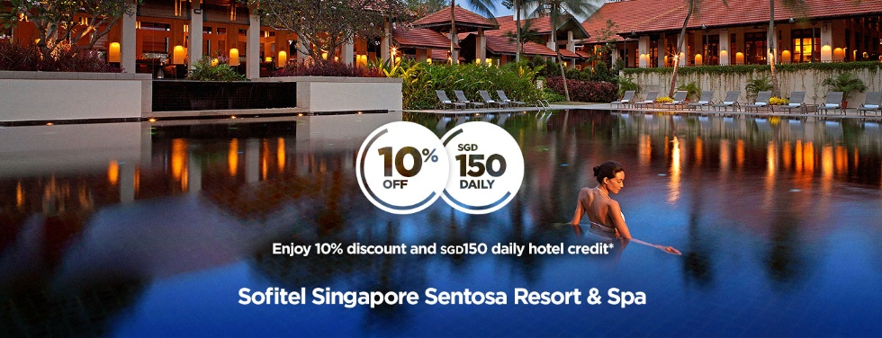 Photo Credit: Sofitel Singapore Sentosa Resort & Spa