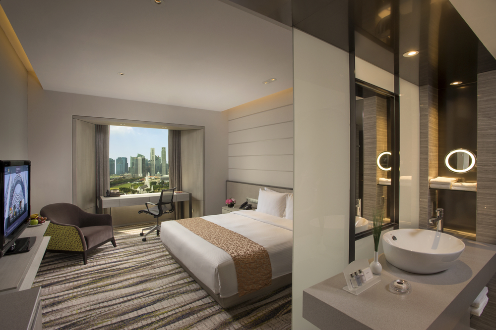 Deluxe Room | Photo Credit: Carlton Hotel Singapore