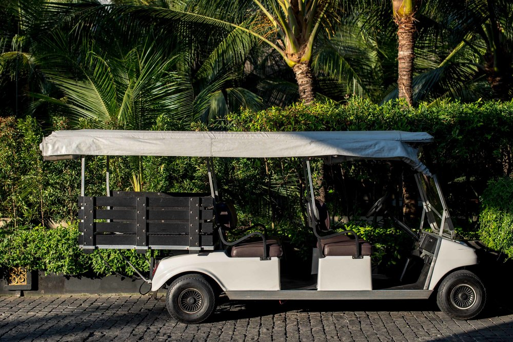 Private Buggy to Villa The St. Regis Bali Resort
