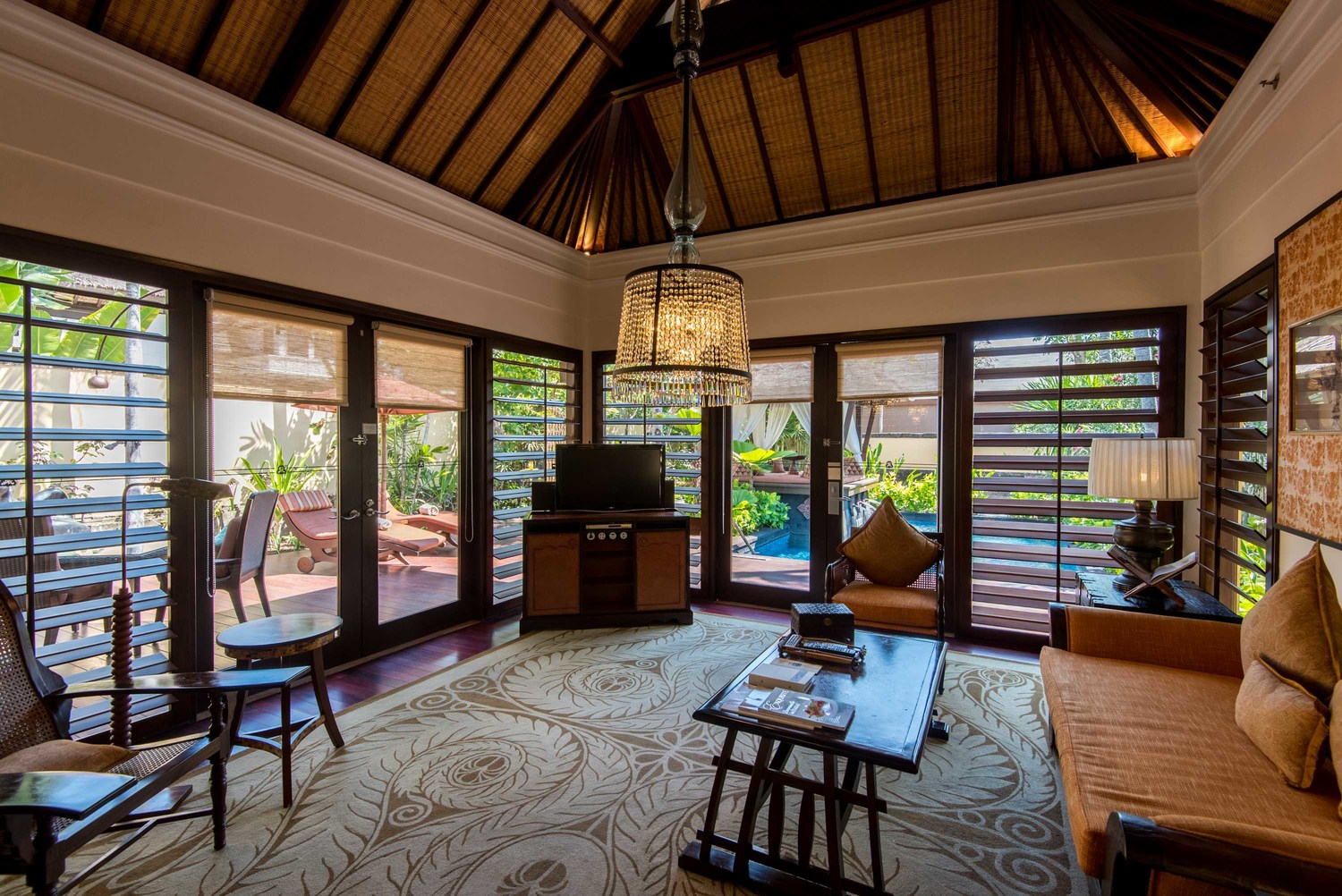 Living Room - Gardenia Villa The St. Regis Bali Resort