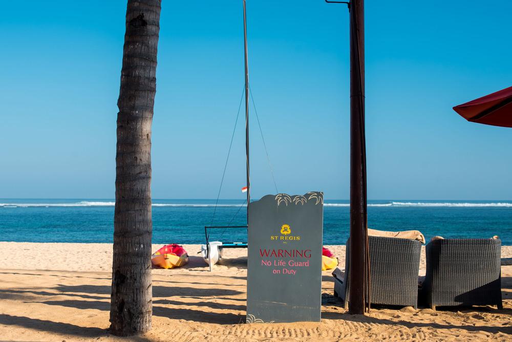 Private Beach  The St. Regis Bali Resort