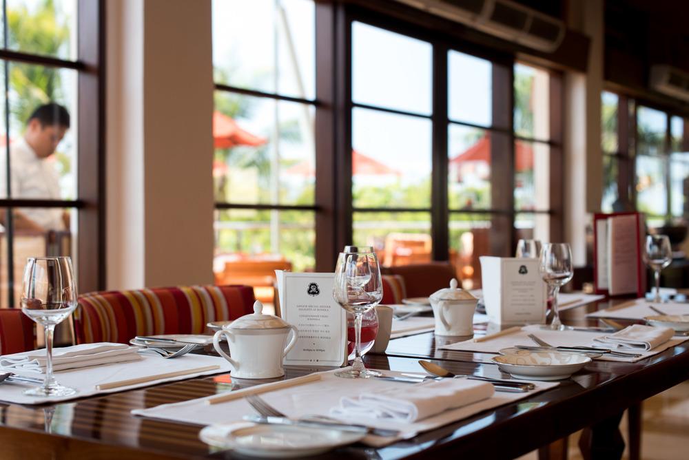 Breakfast - Boneka Restaurant The St. Regis Bali Resort