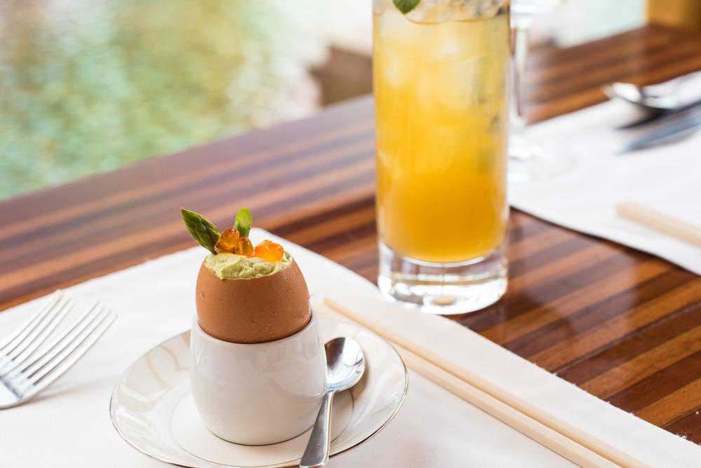 Egg Nouvelle - Boneka Restaurant The St. Regis Bali Resort