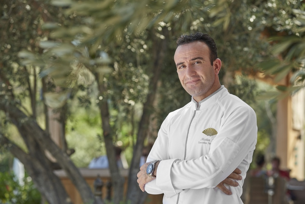 Chef Metin Isci from Mandarin Oriental, Bodrum | Photo Credit: Mandarin Oriental, Singapore