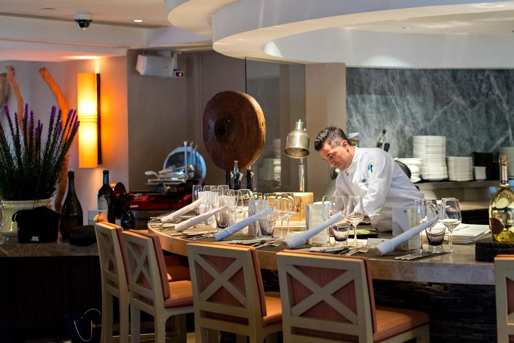 Chef de Cuisine Omar Bernardi - Chef's Table Dolce Vita - Mandarin Oriental, Singapore