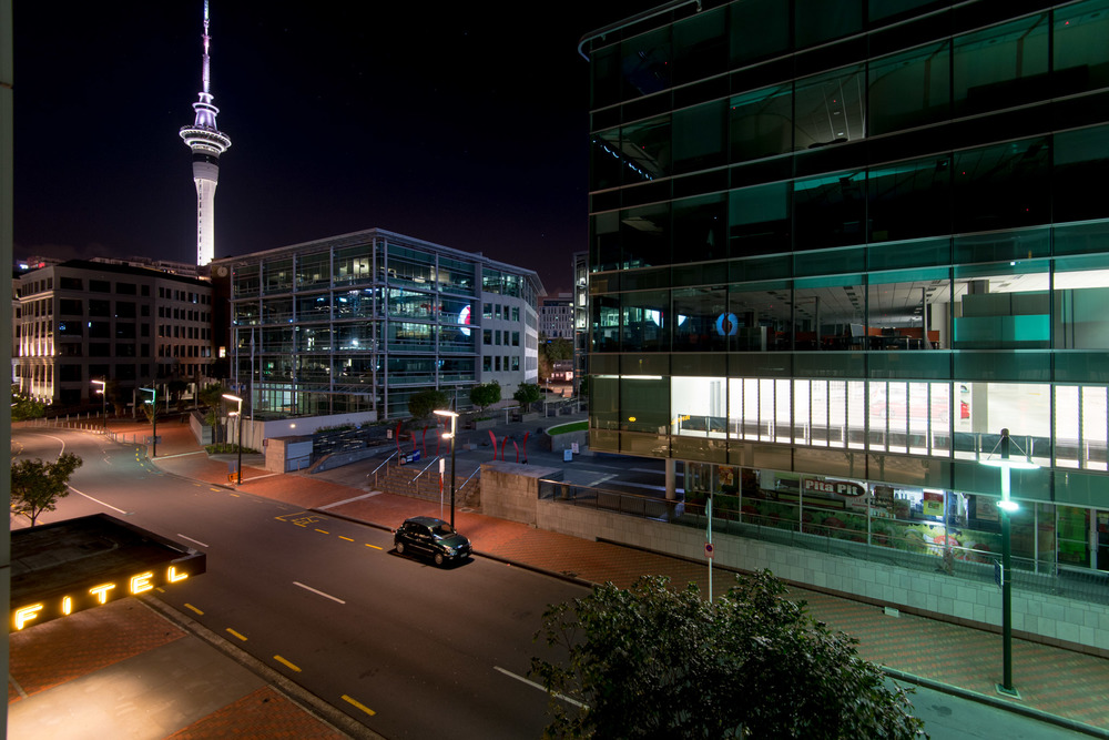 View from the Room  Superior Room - Sofitel Auckland Viaduct Harbour