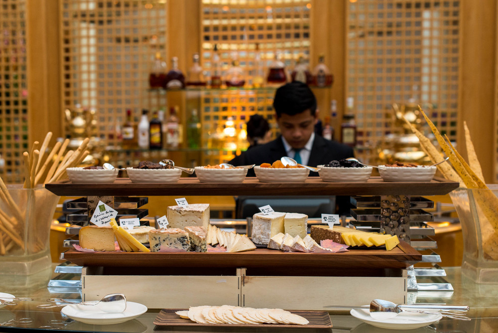 Selection of Cheese - The Aperitivo Tradition  Chihuly Lounge - The Ritz-Carlton, Millenia Singapore