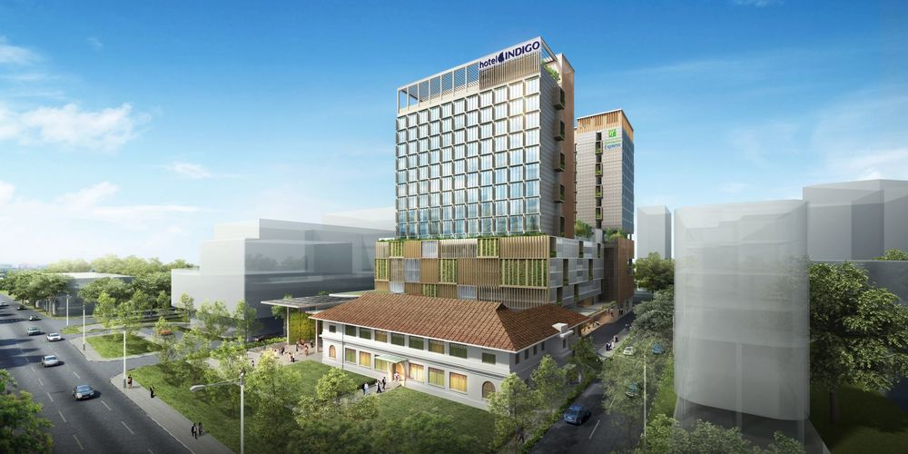 Render of Singapore's first Hotel Indigo | Photo Credit: Hotel Indigo Singapore Katong
