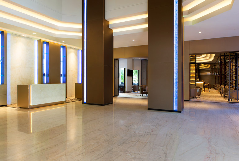 Hotel Lobby | Photo Credit: Four Points by Sheraton Singapore, Riverview