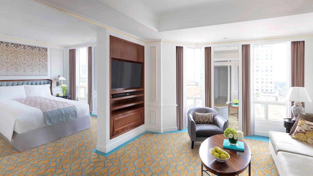Newly Refurbished Premier Suite | Photo Credit: InterContinental Singapore