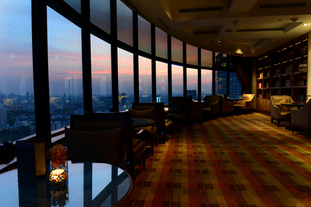 Sunset at the InterContinental Club | Photo Credit: InterContinental Bangkok