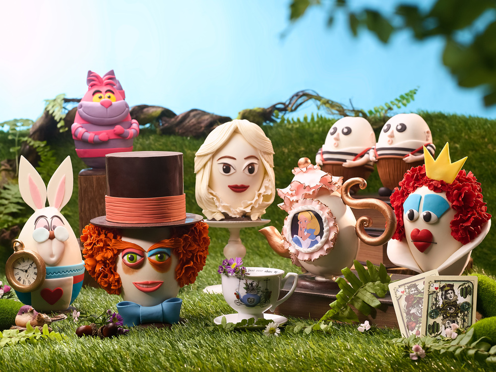 Alice in Wonderland Easter Eggs | Photo Credit: Shangri-La Hotel, Singapore