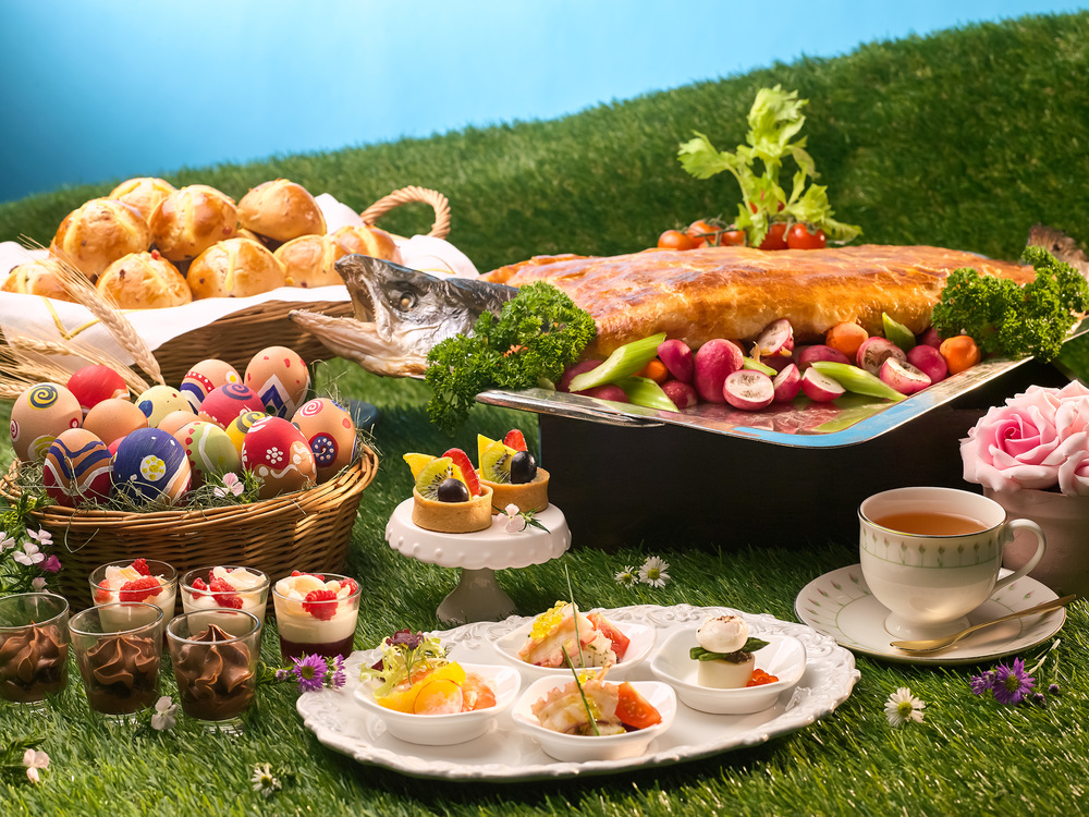 Easter (2016) High Tea at Rose Veranda | Photo Credit: Shangri-La Hotel, Singapore