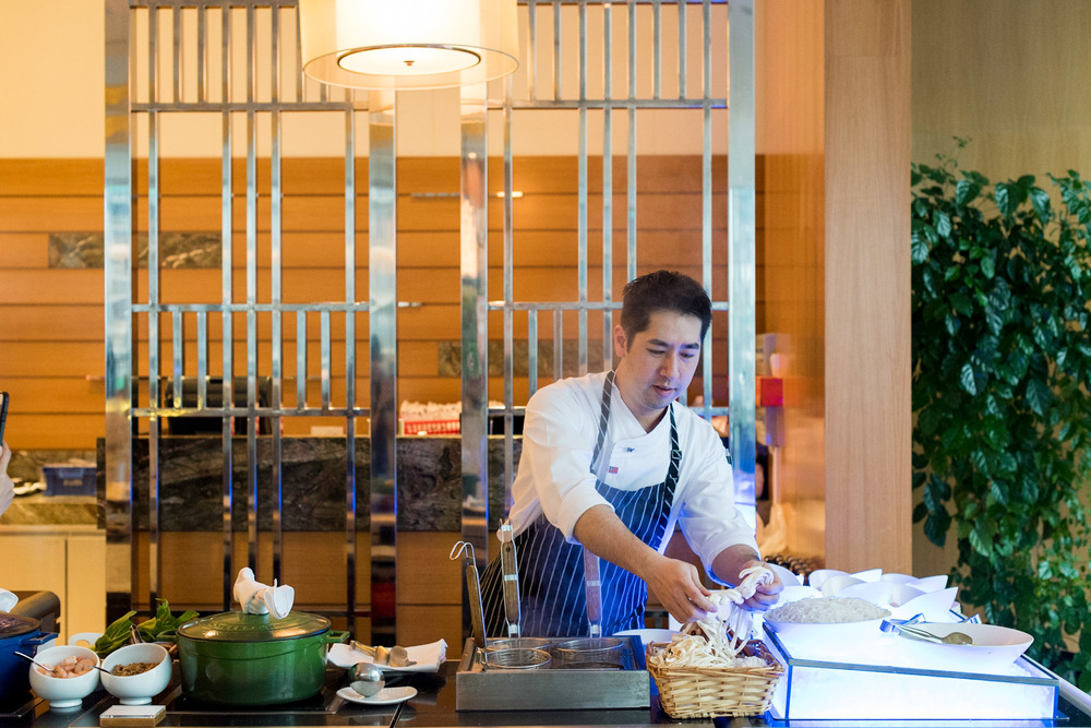Sous Chef Daniel Chen from W Taipei     Seasonal Tastes - The Westin Singapore