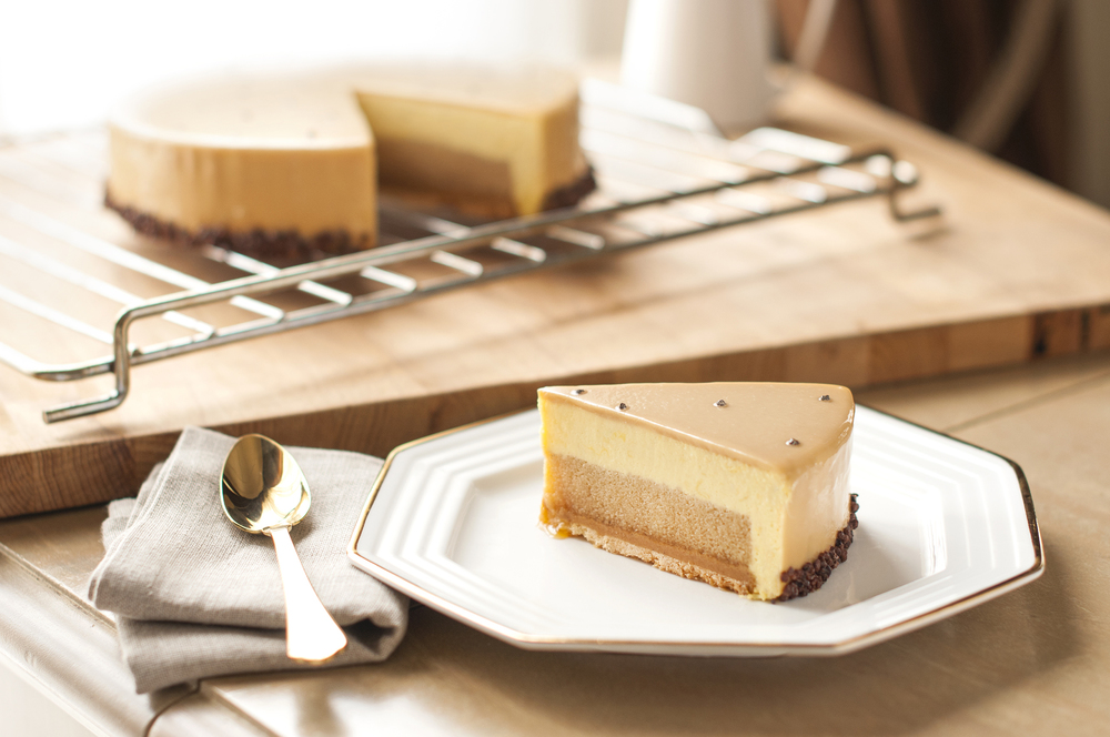 Durian Black Sea Salt Caramel Cake | Photo Credit: Goodwood Park Hotel Singapore