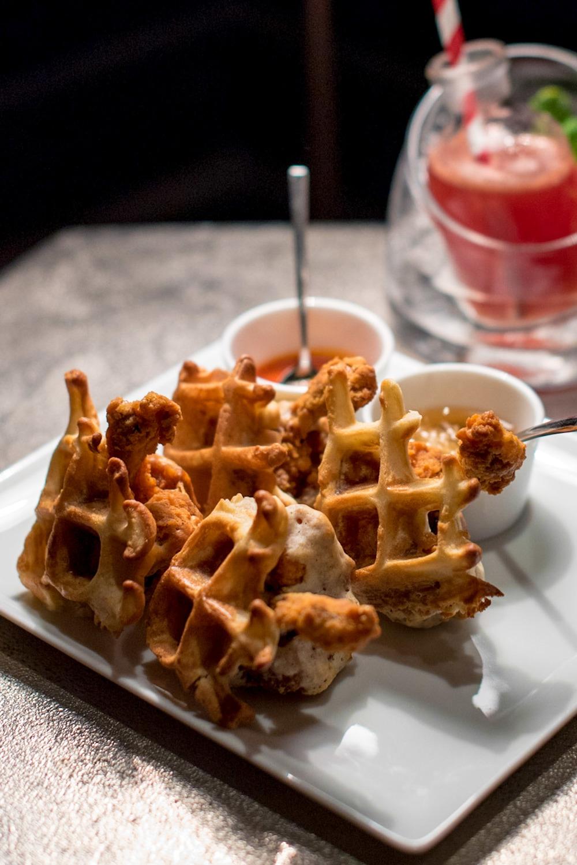Chicken & Waffle (S$18++)   Manhattan - Regent Singapore