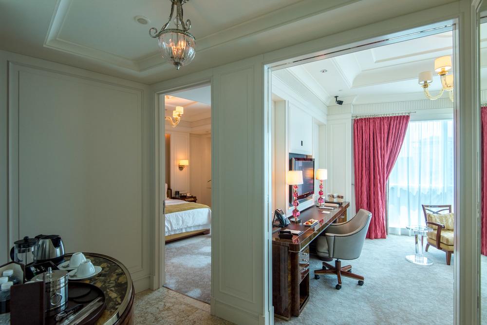 Entrance to the Suite  Caroline Astor Suite - The St. Regis Singapore