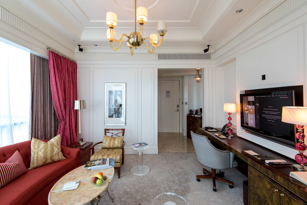 Living Room Caroline Astor Suite - The St. Regis Singapore