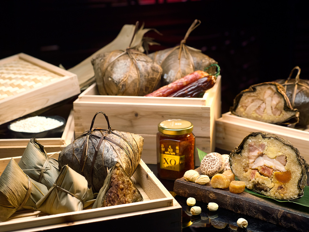 Premium Rice Dumplings Gift Set (S$69.90+) | Photo Credit: Pan Pacific Singapore