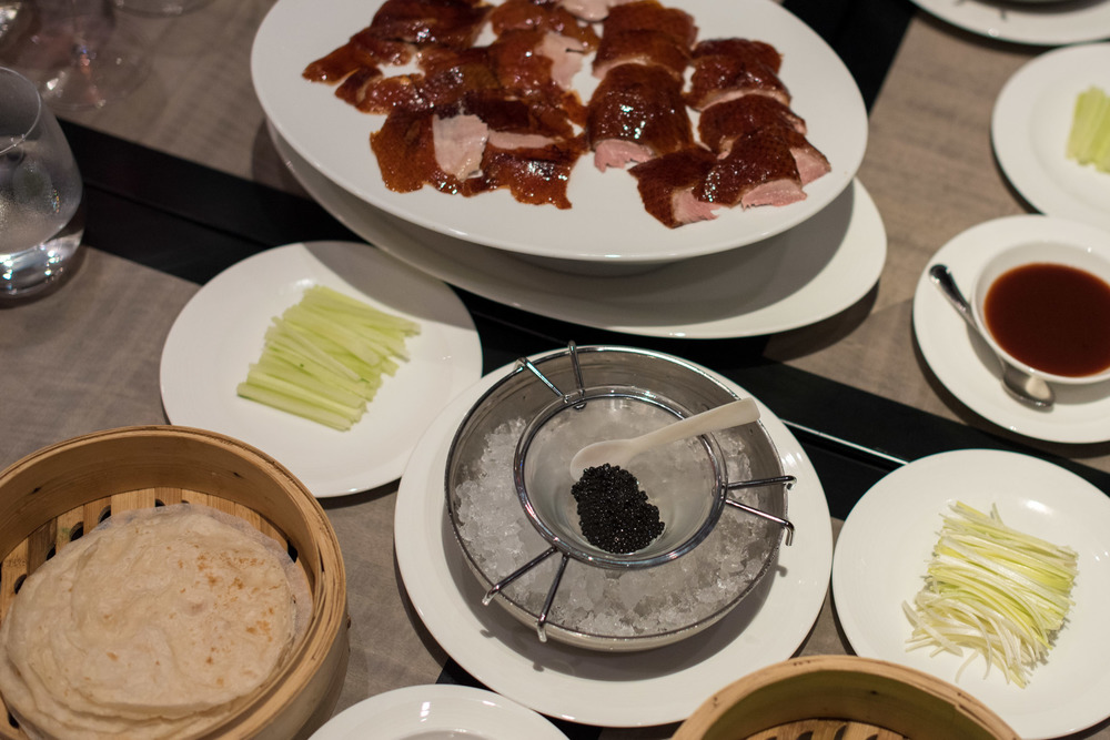 Signature Peking Duck (S$98++) Jiang-Nan Chun - Four Seasons Hotel Singapore
