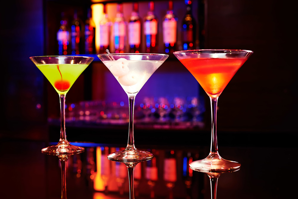 Martini Rush at Gravity Bar | Photo Credit: Carlton Hotel Singapore