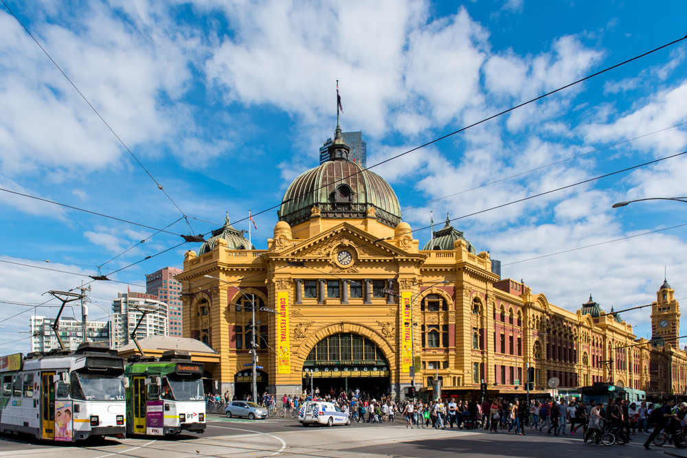 Flinders Street Station - Shot on Nikon D750  ISO 100 | f / 6.3 | 1/500 sec