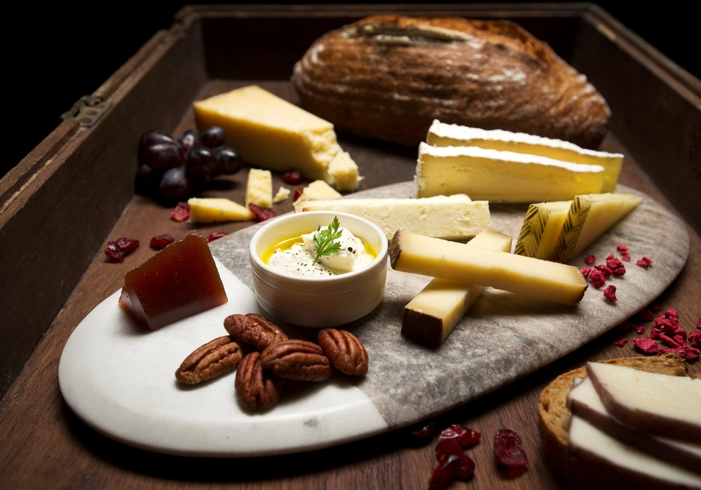 Cheese Platter | Photo Credit: InterContinental Singapore