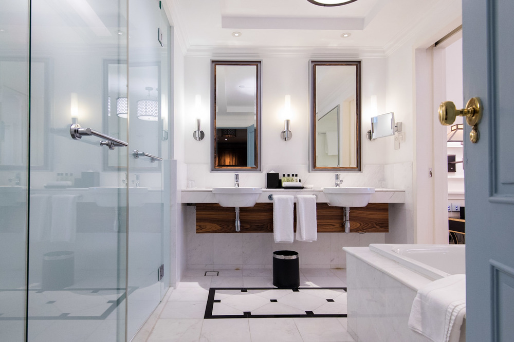 Bathroom Heritage Suite - InterContinental Singapore