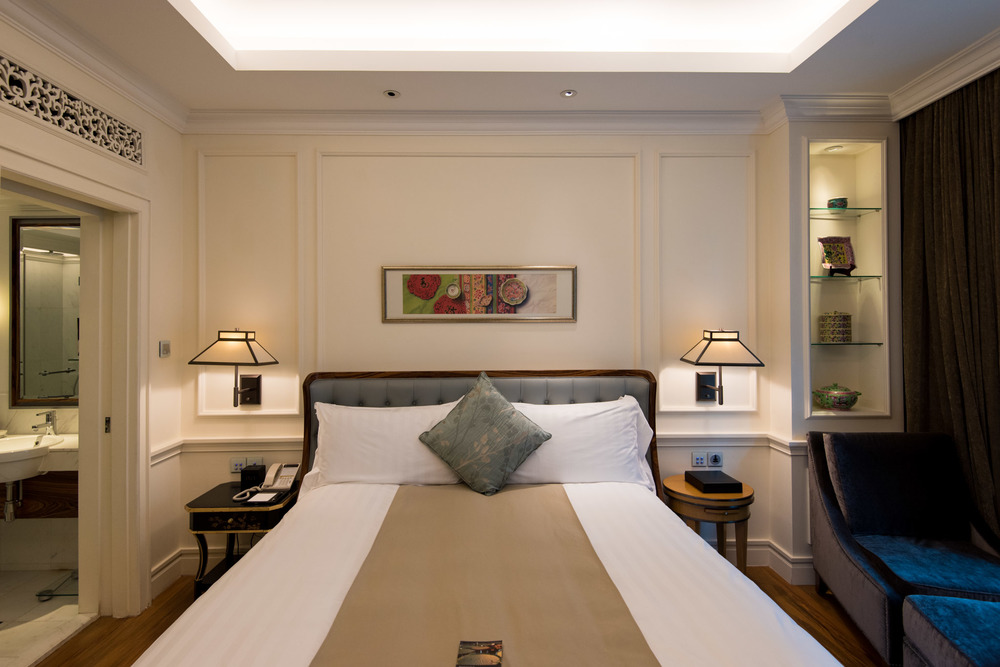 Bedroom Heritage Suite - InterContinental Singapore
