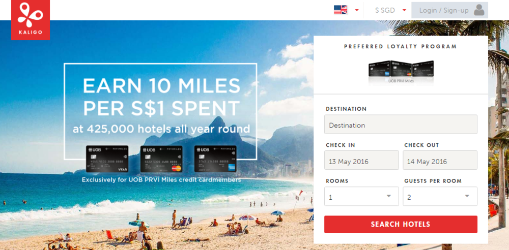 Earn 10 Miles per Dollar with UOB PRVI Miles Credit Card