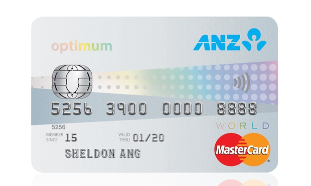 ANZ Optimum World MasterCard | Photo Credit: ANZ