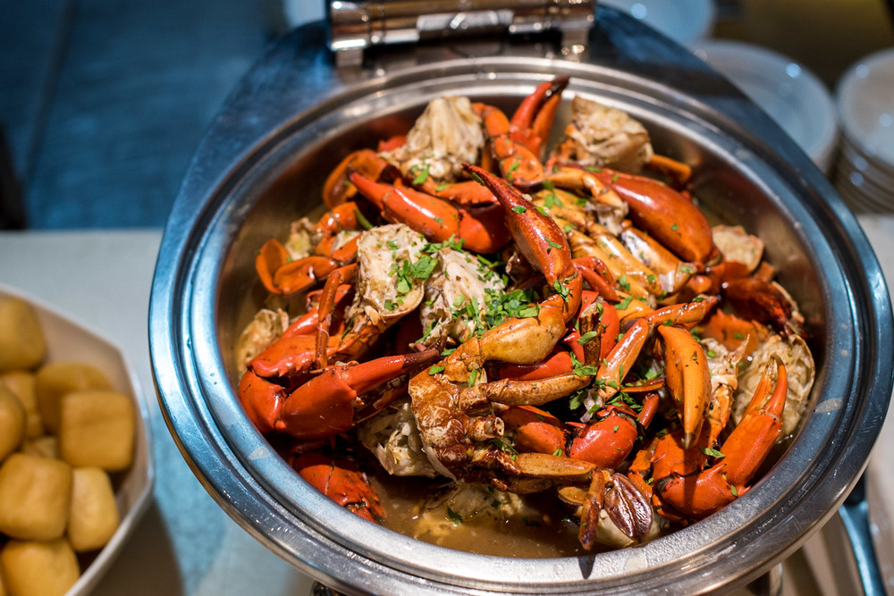 Crab Buffet (2016) Plaza Brasserie - PARKROYAL on Beach Road