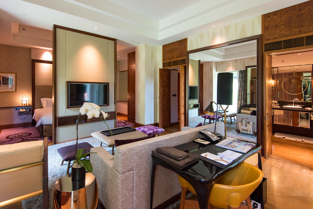 Living Room Junior Suite - Sofitel Singapore Sentosa Resort & Spa