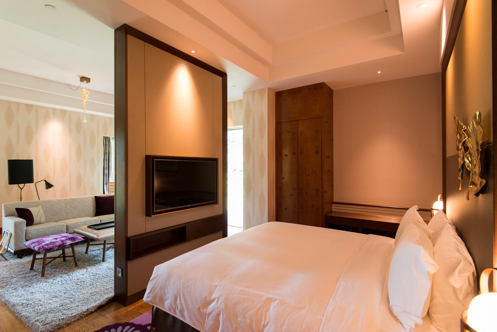 Bedroom Junior Suite - Sofitel Singapore Sentosa Resort & Spa