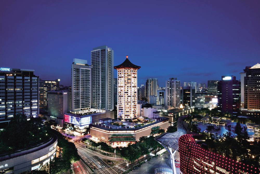 Property Facade | Photo Credit: Singapore Marriott Tang Plaza Hotel