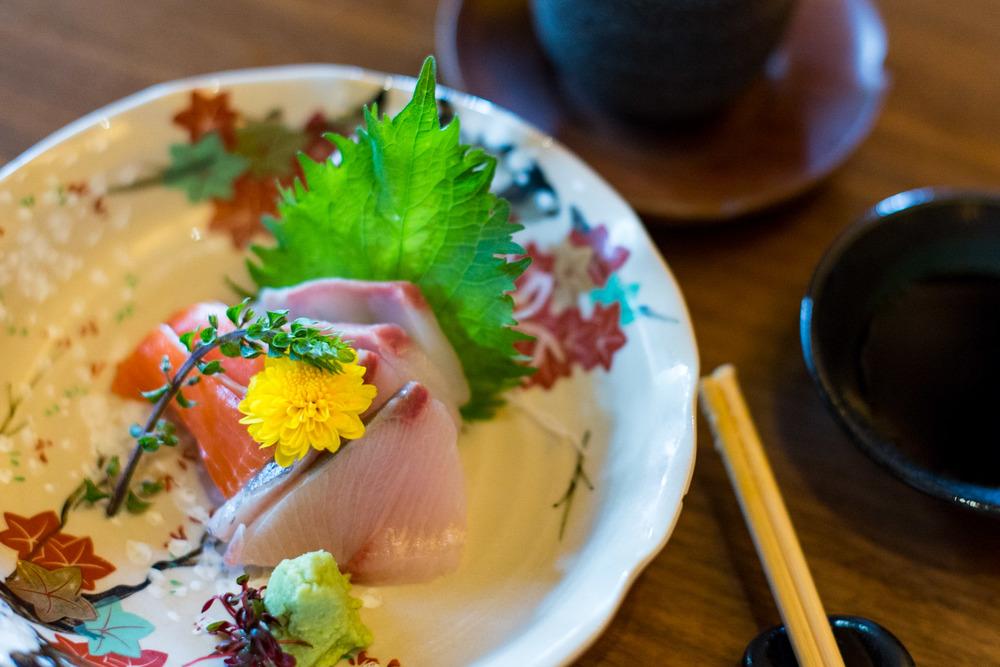 Sashimi (Featuring Mikan Tai) Keyaki - Pan Pacific Singapore