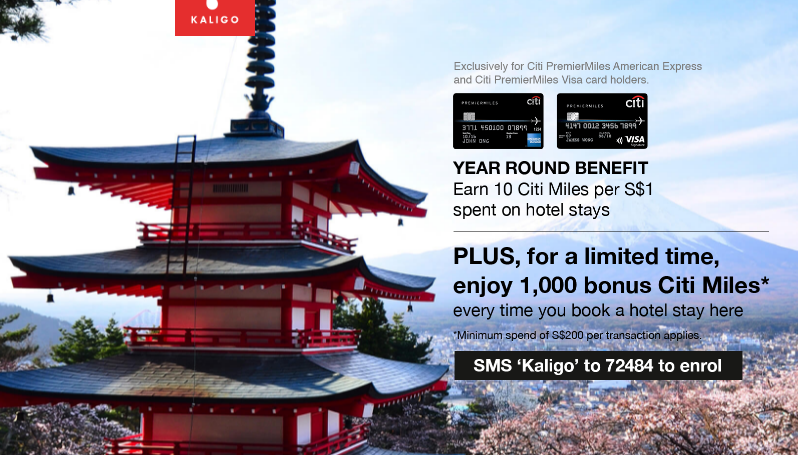 Earn 1,000 Bonus Citi Miles on Kaligo | Photo Credit: Kaligo