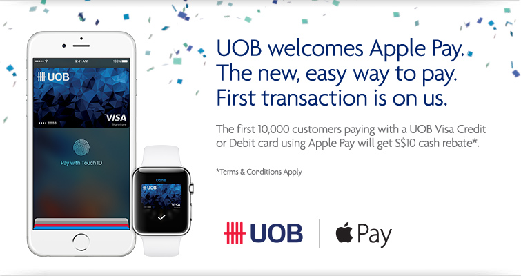 UOB Apple Pay | Photo Credit: UOB