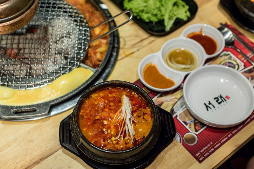 Soondubu Jjigae (Tofu Stew) - S$14.90++ Seorae Singapore