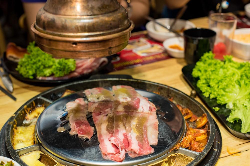 Samgyeobsal (S$18.90++) Seorae Singapore