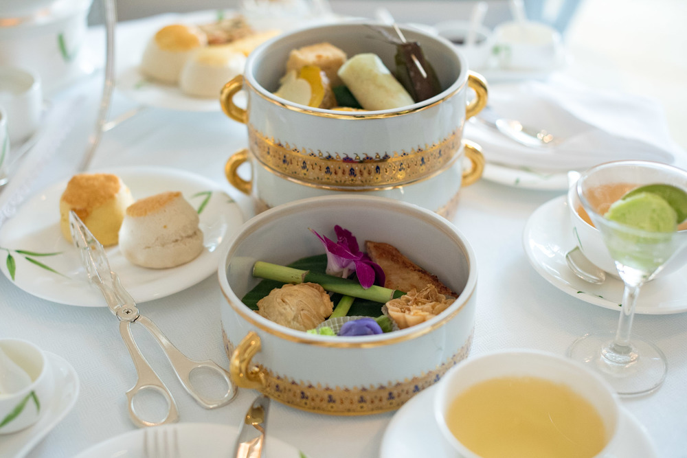 The Oriental Afternoon Tea Set (THB 1,450++ per Person) Author's Lounge - Mandarin Oriental, Bangkok